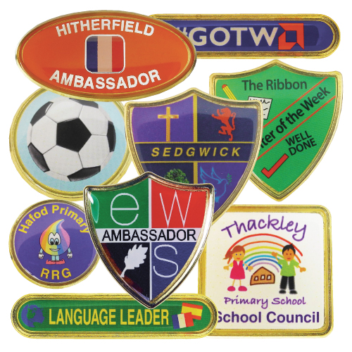 Bespoke School Badges