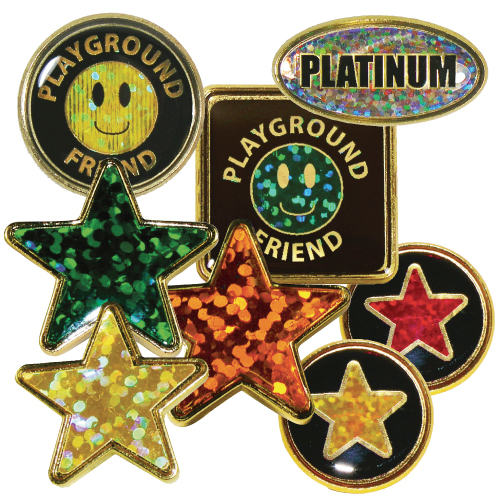 Holographic School Badges | Westfield4Schools