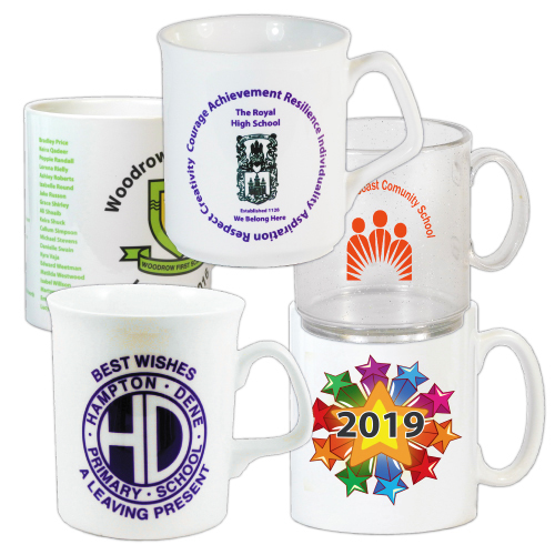 Custom Printed School Mugs | Westfield4Schools