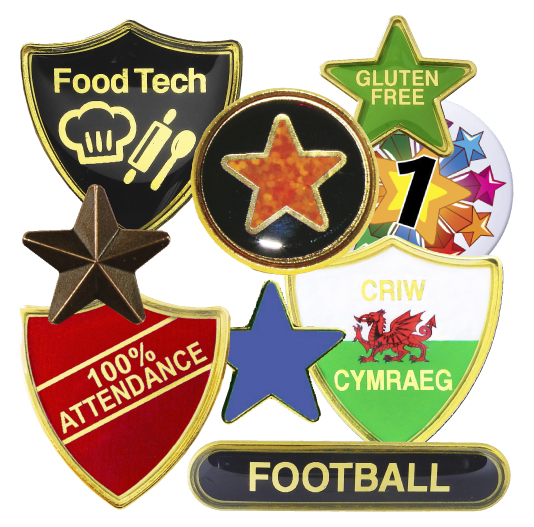 Standard Badges from Westfield4Schools
