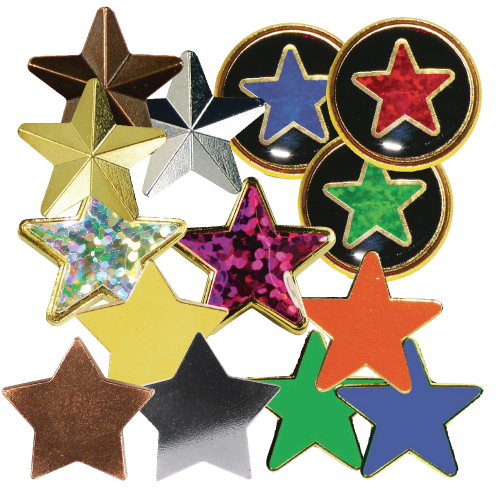 Star Motivation Badges
