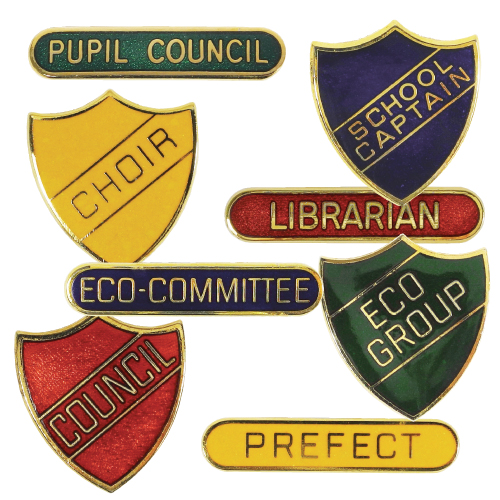 Standard Title Traditional Badges