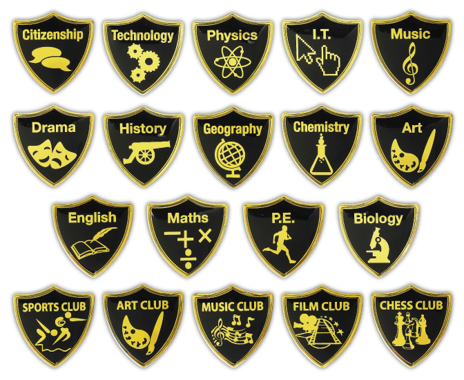 Subject Shield Badges