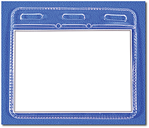 LAN ID U - Clear ID Holder Unprinted