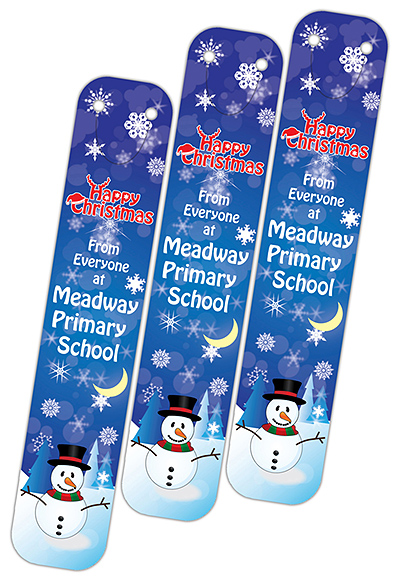 X CLI BOO L15 - Christmas 2015 Full Colour Clip on Bookmarks