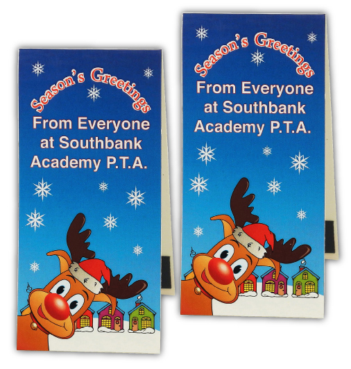 Christmas Full Colour Magnetic Bookmarks