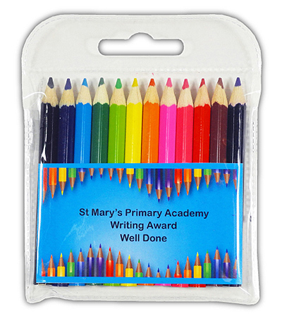 PE6209S - Half Size Coloured Pencils