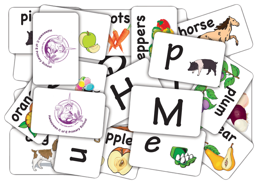 Flash Snap Spelling Cards