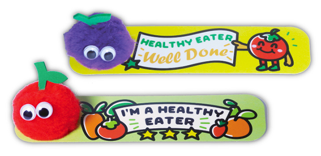 Fruit Bug Bookmarks