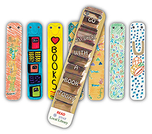 CLI BOO L - Full Colour Bookmarks