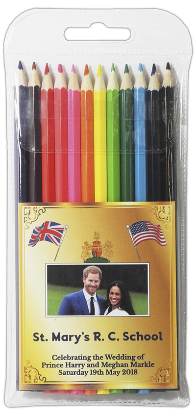 PE6209 HM - Royal Wedding Large Coloured Pencils