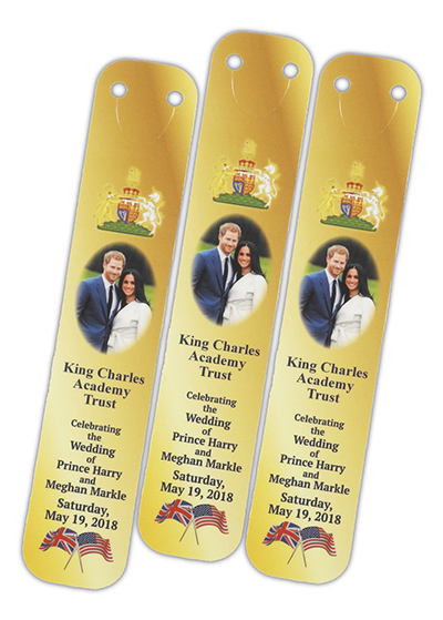 CLI BOO HM - Wedding Celebration Bookmarks