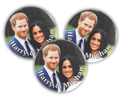 Royal Wedding 38mm Button Badge
