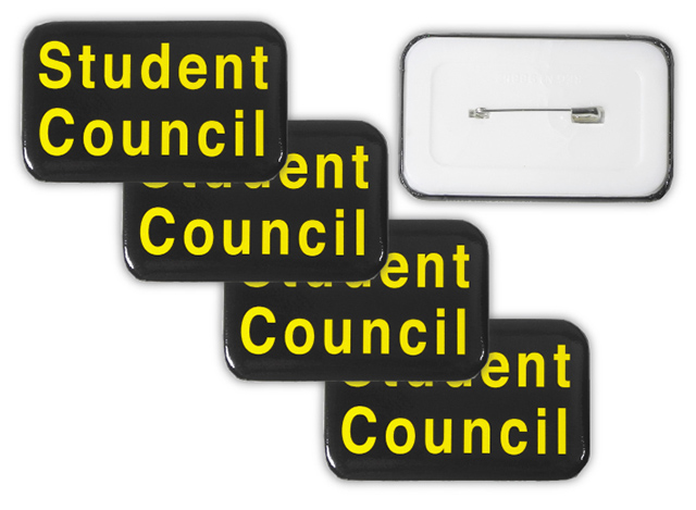 Clearance Student Council Button Badges
