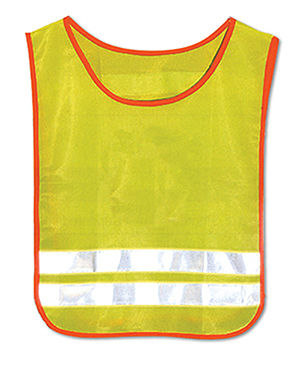 TAB C UN - Child's Safety Tabard Unprinted