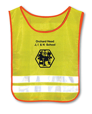 TAB C1 - Child's Safety Tabard Printed Front or Back