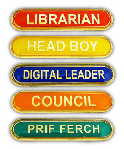 Highly Reflective Titan Bar Badges