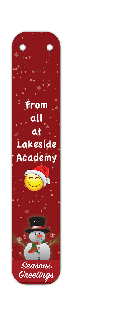 X CLI BOO L17 - Christmas 2017 Full Colour Clip on Bookmarks