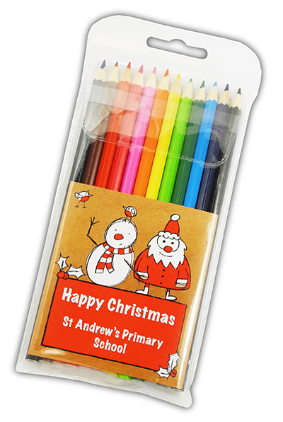Christmas 2016 Large Coloured Pencils