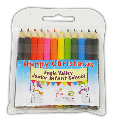X PE6209 S16 - Christmas 2016 Small Coloured Pencils