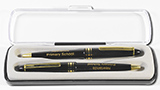 Alpine Ebony Ball Pen and Pencil Set