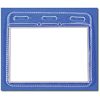 Clear ID Holder Unprinted