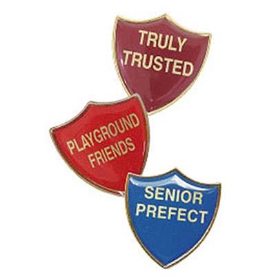 Customised Titan Shield Badges