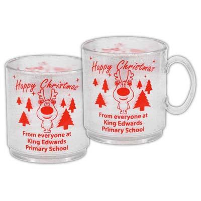 Christmas Glitter Mug