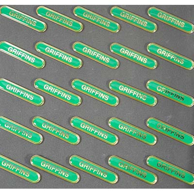 GRIFFINS GREEN BAR - Clearance Bulk Green Griffins Badges