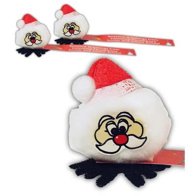 Christmas Glitter Santa Bugs