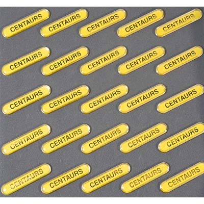 Clearance Bulk Yellow Centaurs Badges