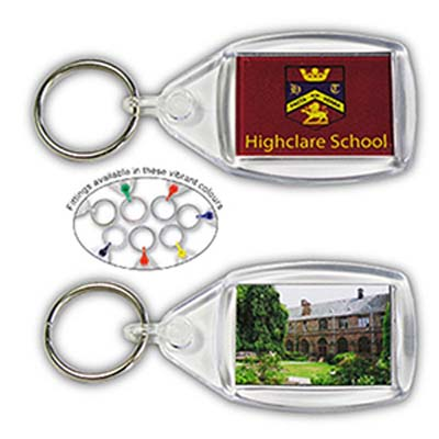 Crystal Clear Key Fobs