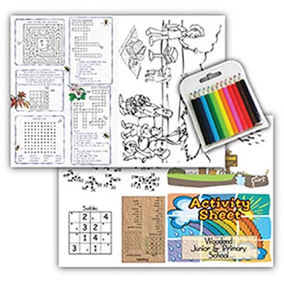 ACT SHE PK - Activity Sheets