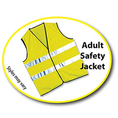 TAB A - Adult Safety Jacket