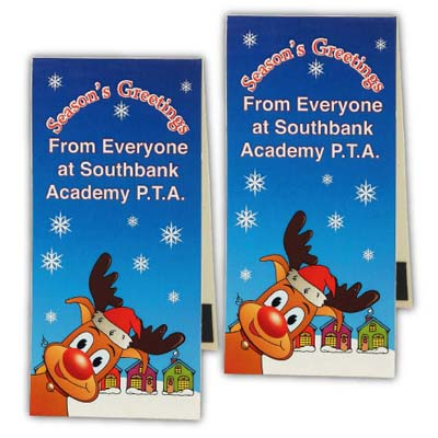 X MAG BOO 14 - Christmas Full Colour Magnetic Bookmarks