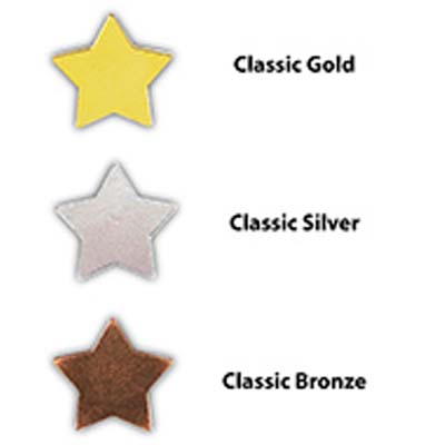 CLA STA - Classic Star Motivation Badges