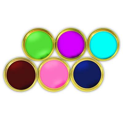 House Cold Enamel Badge Custom Colours