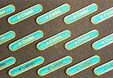 Clearance Bulk Bar e Cadet Turquoise Badges