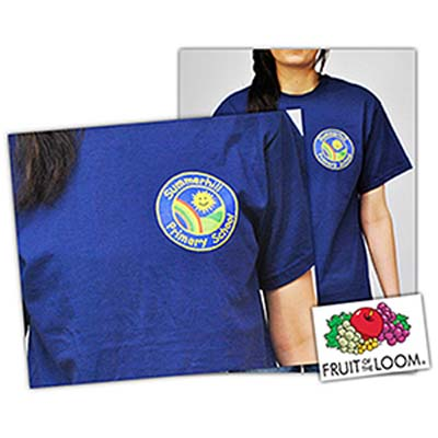 EMB TEE A - Adults Emblem/Crest T-Shirts