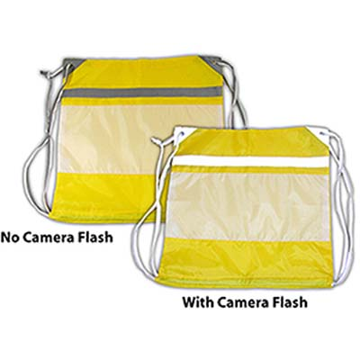 Hi-Vis Draw String Bag Unprinted