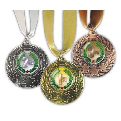 Standard Cold Enamel Medals