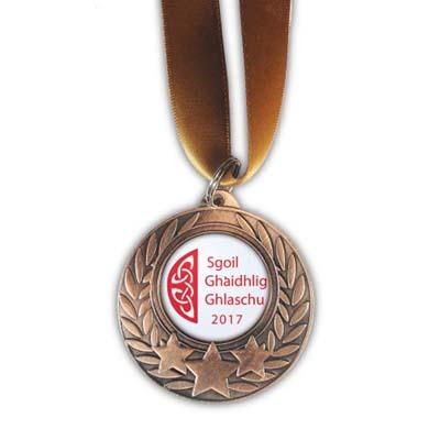 Bespoke Cold Enamel Bronze Medal