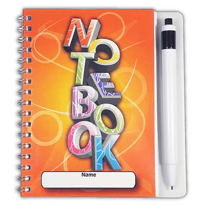 NOT BOO - Large Notebook