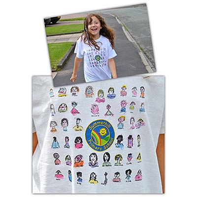 POR TEE C - Childrens Portrait T-Shirts