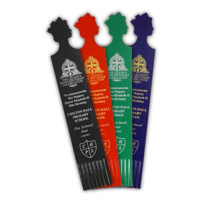 90th Birthday Celebration Recycled Leather Bookmarks