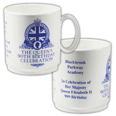 90th Birthday Celebration White Mug