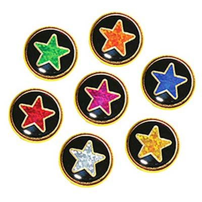 ROU HOL - Round Star Motivation Badges