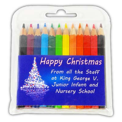 X PE6209 S 14 - Half Size Christmas 2014 Coloured Pencils