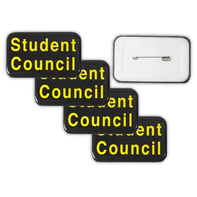STUDENT COUNCIL BUTTON BADGES - Clearance Student Council Button Badges