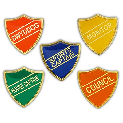 TITAN SR - Highly Reflective Titan Shield Badges